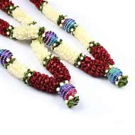 Deity Garland - Set of 2 - Design I