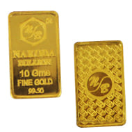 10 gm Pure Gold Bar - 24  Carat