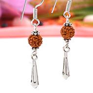 Rudraksha earring - Design I