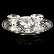 Offering Plate - German Silver