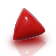 Italian Coral triangular-