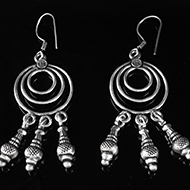 Earrings in Silver - Design XVII