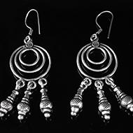 Earrings in Silver - Design XVII