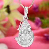 Shiva Locket in Pure Silver - XV