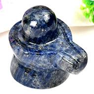 Blue Sodalite Shivling - 64 gms