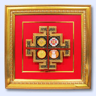 Shree Sampoorna Mahalaxmi Yantra - 12 inches