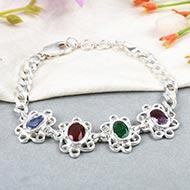 Mahalaxmi Ratna Kavacham - 3 to 4 carat gems - Ladies Design
