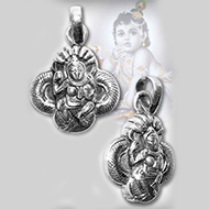 Krishna Locket - Design IV