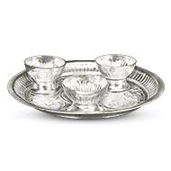 Offering Plate - German Silver