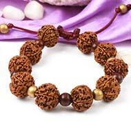 5 Mukhi Nepal Rudraksha beads bracelet - VIII