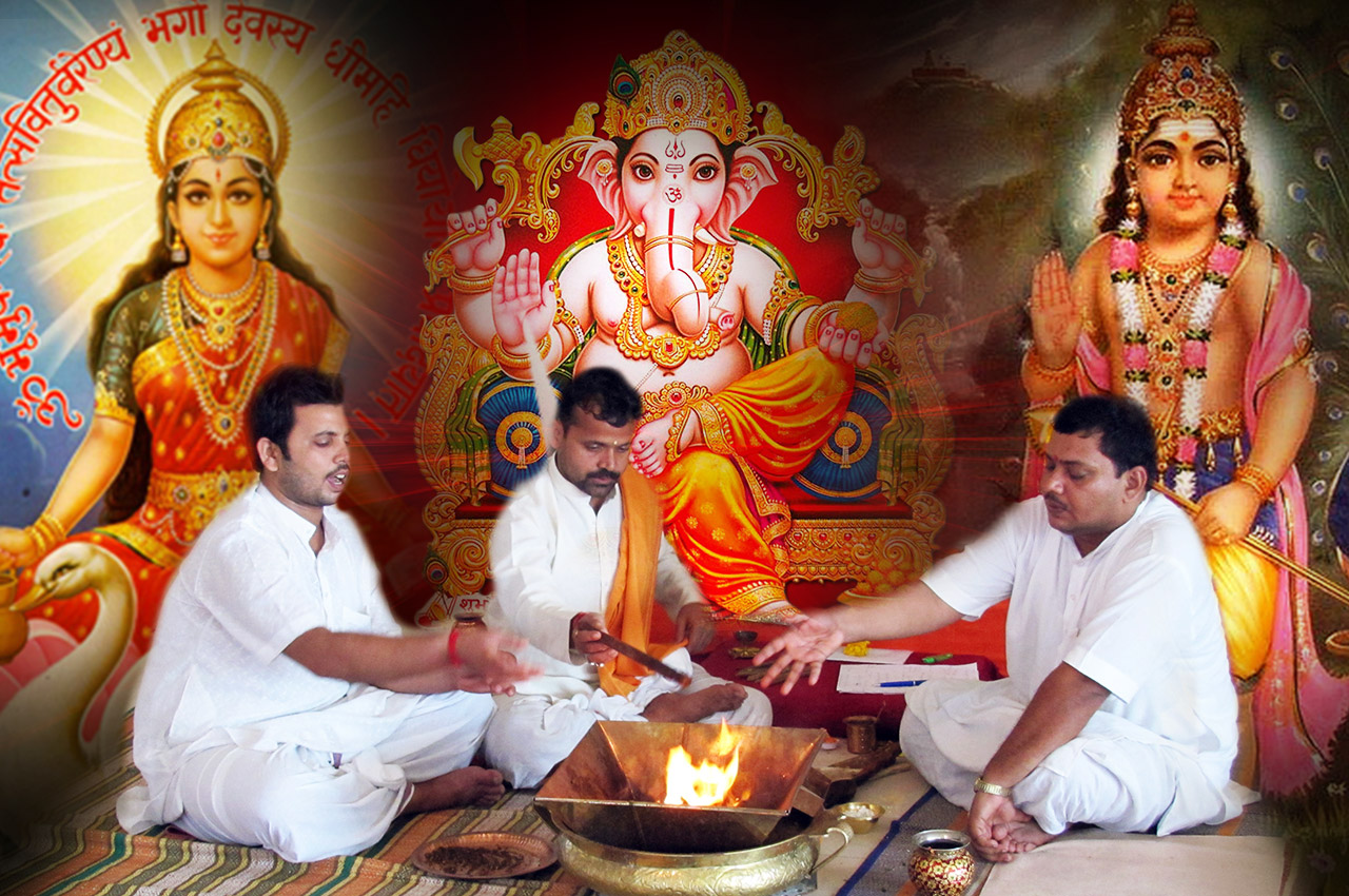 Puja for Wellbeing of Children