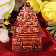 Sunstone Shree Yantra - 68 gms