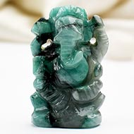 Ganesha in Emerald - 50 carats
