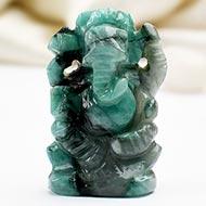 Ganesha in Emerald - 50 carats