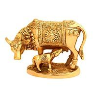 Gau Mata in Brass - II