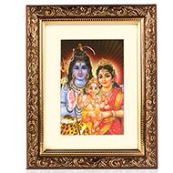 Shiva Parivar Frame