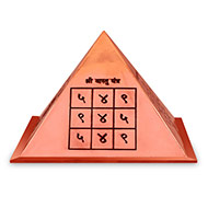 Vastu Yantra Pyramid in Copper