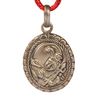 Shiva Locket in Pure Silver - Design III