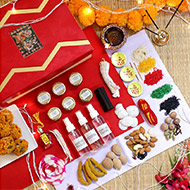 Puja Ingredients Set