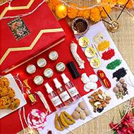 Puja Ingredients Set