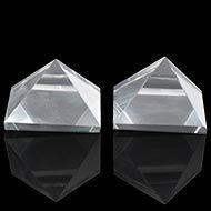 Sphatik Pyramid - Set of 2 - 24 gms