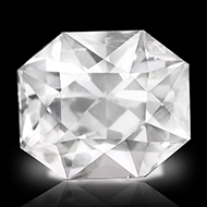 White Sapphire - 6.17 carats