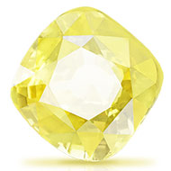 Yellow Sapphire - 2.52 carats - Cushion