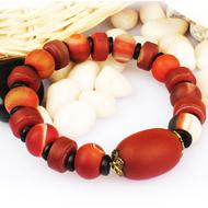Natural Agate Gemstone Bracelet - Design I