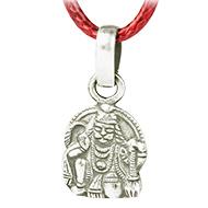 Hanuman Mudra Locket in Pure Silver