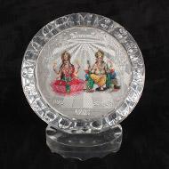 Lakshmi Ganesh Silver Frame