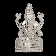 Ganesh in Pure Silver - I