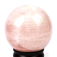 Rose Quartz Ball - 1.11 kgs