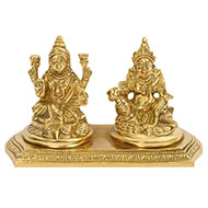 Laxmi Kuber in Brass
