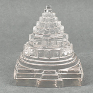 Shree Yantra in Sphatik - 366 gms