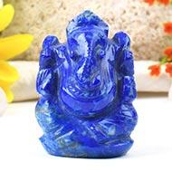 Lapis Lazuli Ganesha - 67 gms