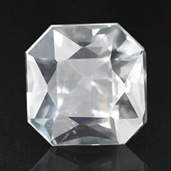 White Sapphire - 3.64 carats