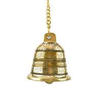Hanging Bell in Brass