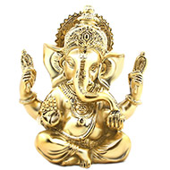Lord Ganesha in Brass