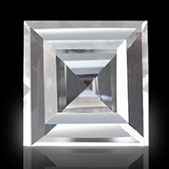 White Topaz - 9 to 11 carats - Square