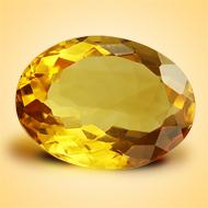 Yellow Citrine - 5-6 Carats - Oval