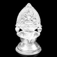 Gajalaxmi Diya in pure Silver