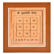 Shree Brihaspati Yantram on Bhojpatra