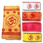 Om Shawl in soft Cotton - Pattern II