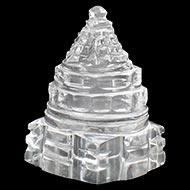 Shree Yantra in Sphatik - 25 gms - II