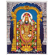 Lord Tirupati Balaji Photo - Large