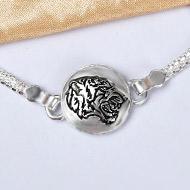 Pure silver Rakhi - Design VIII