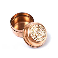 OM Copper container - Small - Set of 12