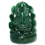 Green Jade Ganesha - 635 gms