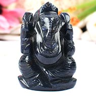 Blue Jade Ganesha - 78 gms