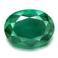 Emerald 3.75 carats Zambian - Oval - I